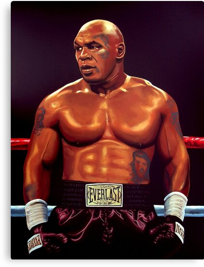 Mike Tyson painting by PaulMeijering