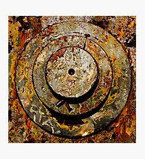 Steel & Rust Photographic Print