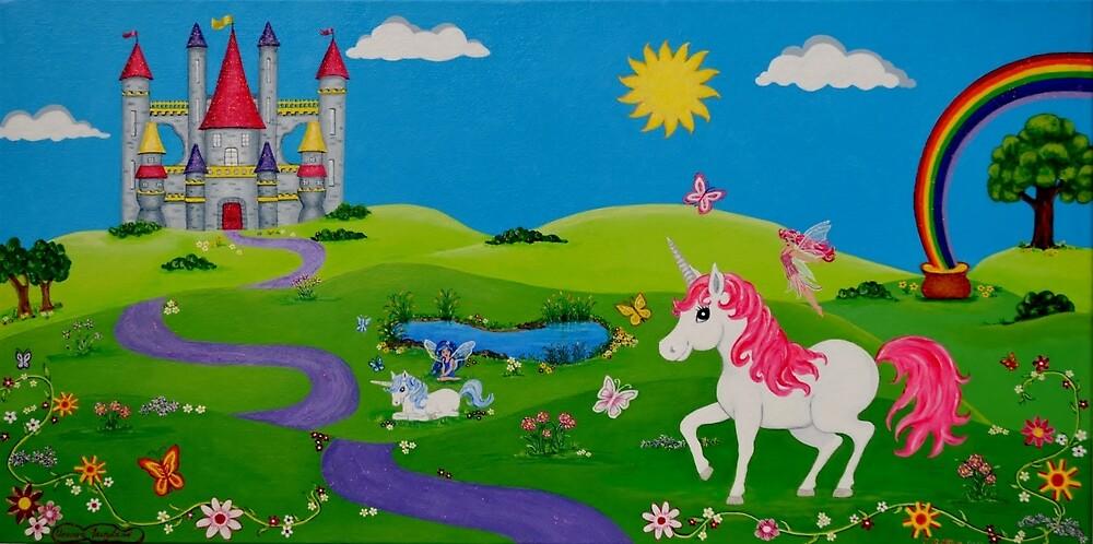 Unicorn Wonderland by BethuneT
