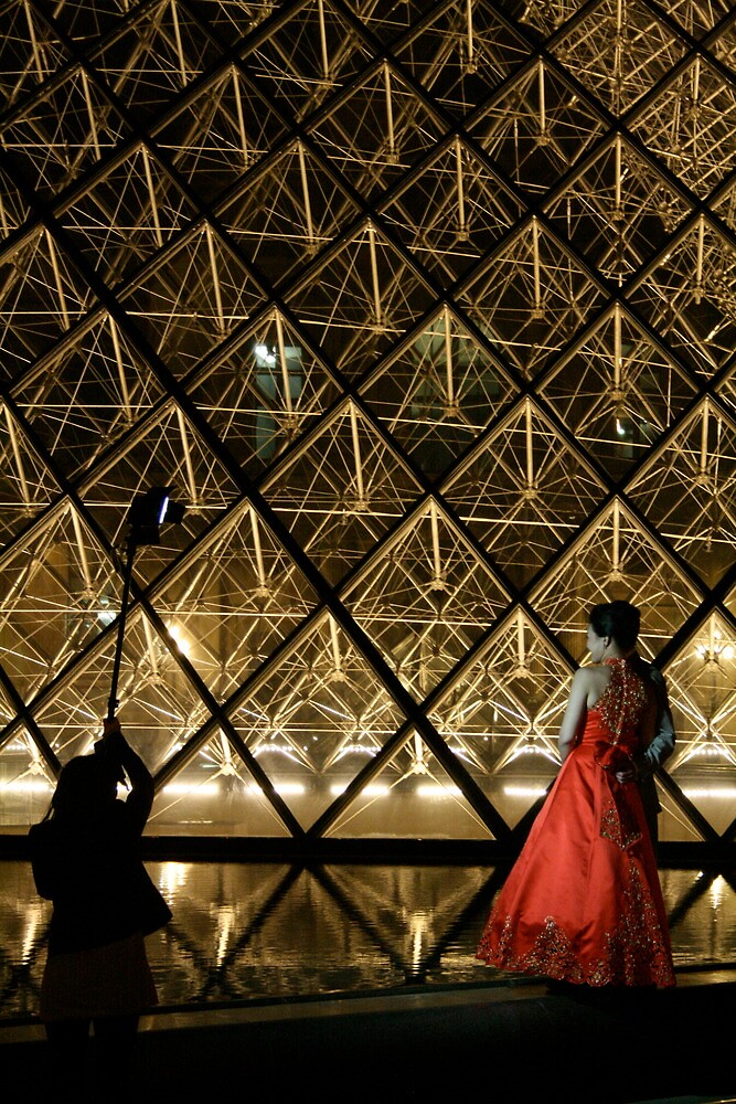 Wedding vows - Louvre II by Francisco Vasconcellos