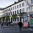 Passing by history - Brussels by Norman Repacholi