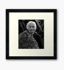 Maori Princess Framed Print