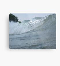 Surfs Up in Whitefish Bay Wisconsin Metal Print