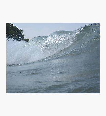 Surfs Up in Whitefish Bay Wisconsin Photographic Print
