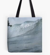 Surfs Up in Whitefish Bay Wisconsin Tote Bag
