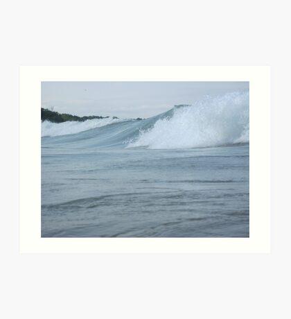 Surfs up in Whitefish Bay Wisconsin Img 406 Art Print