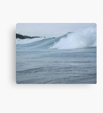 Surfs up in Whitefish Bay Wisconsin Img 406 Canvas Print