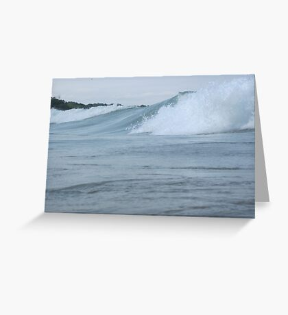 Surfs up in Whitefish Bay Wisconsin Img 406 Greeting Card