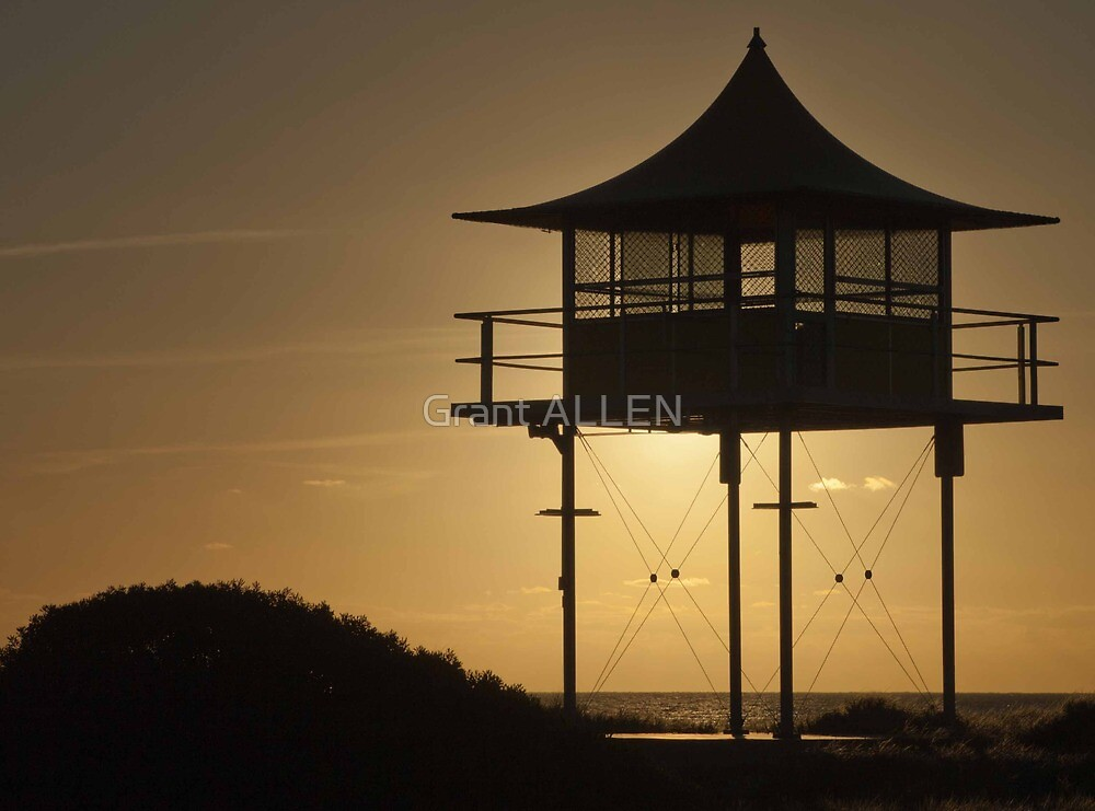 Baywatch Tower by Grant ALLEN
