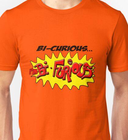 Scott Pilgrim VS The World - Bi- Curious...I'm Bi- Furious T-Shirt