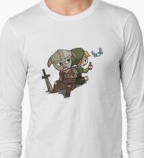 Skyim-Legend of Zelda Long Sleeve T-Shirt