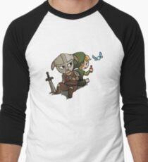 Skyim-Legend of Zelda Men's Baseball ¾ T-Shirt