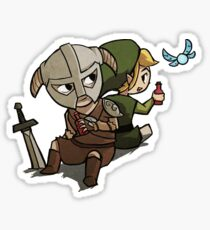 Skyim-Legend of Zelda Sticker
