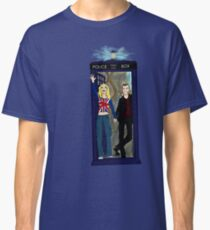 Nine and Rose Meet the Universe Classic T-Shirt