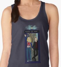 Nine and Rose Meet the Universe Women's Tank Top