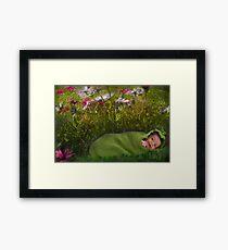 Gorgeous Little Grub Framed Print