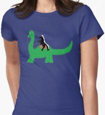 Ride that Dino Honey Badger! T-Shirt
