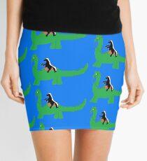 Ride that Dino Honey Badger! Mini Skirt