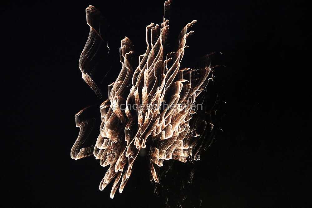 """Fire Works 2""  by Carter L. Shepard by echoesofheaven"