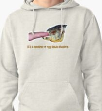 It's a chicken or egg kinda situation Pullover Hoodie