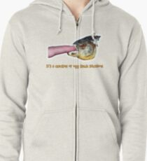 It's a chicken or egg kinda situation Zipped Hoodie