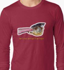 Not your average fish finger Long Sleeve T-Shirt