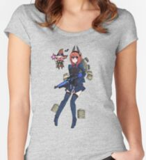 Phantasy Star Women's Fitted Scoop T-Shirt