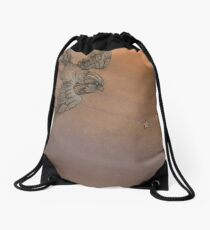 Bird Drawstring Bag