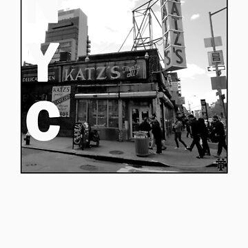 Katz Deli NYC by HammerandTong
