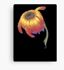 Rainbow Flower Canvas Print