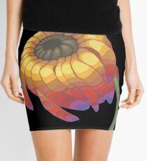 Rainbow Flower Mini Skirt