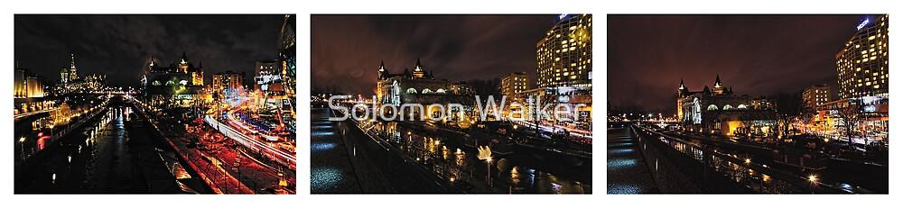 Ottawa At Night - no.130 by Solomon Walker