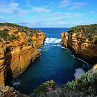 Entrance To Thunder Cave. Port Campbell National Park, Vic, Australia. by Ralph de Zilva