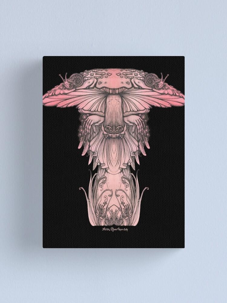 Alternate view of Amanita muscaria Canvas Print