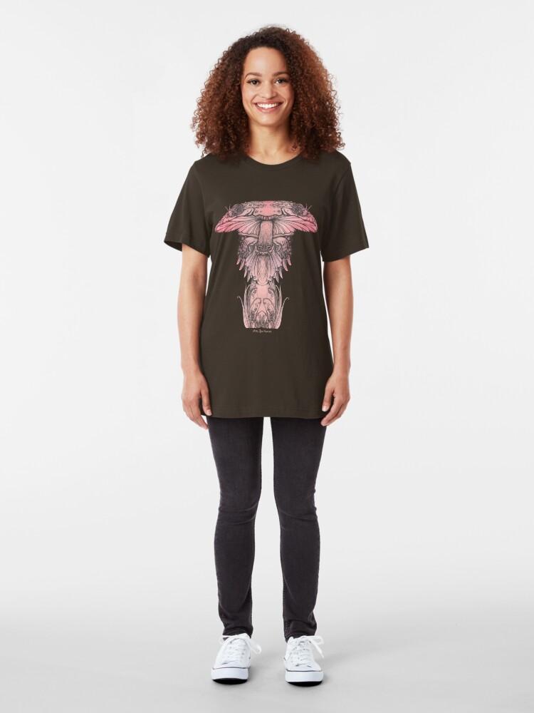 Alternate view of Amanita muscaria Slim Fit T-Shirt