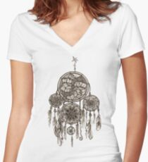 Dreamcatcher Women's Fitted V-Neck T-Shirt