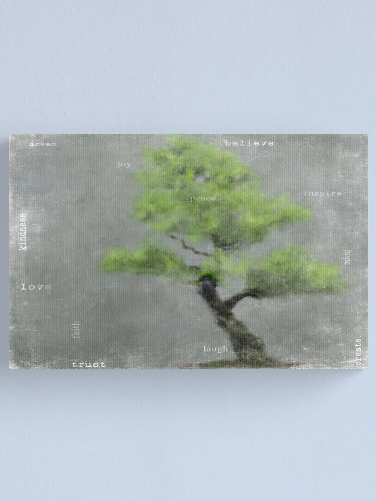 Alternate view of Wisdom Canvas Print