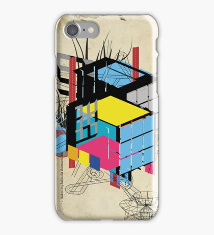 Rubik's building - Vienna 2044 iPhone Case/Skin