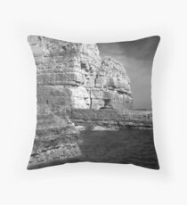 Purbeck Coast No.5 Throw Pillow