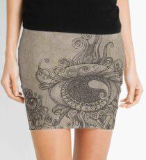 Strange Eyes Mini Skirt