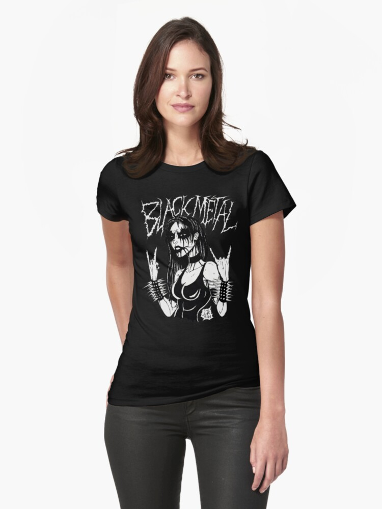 Black Metal Chick by MetalheadMerch