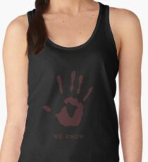 Dark brotherhood - We know Women's Tank Top