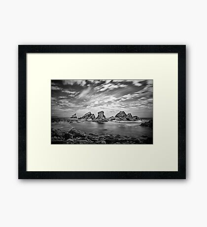 Mupe Bay Framed Print