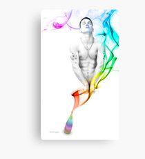 Genie Day - gay art male art Canvas Print