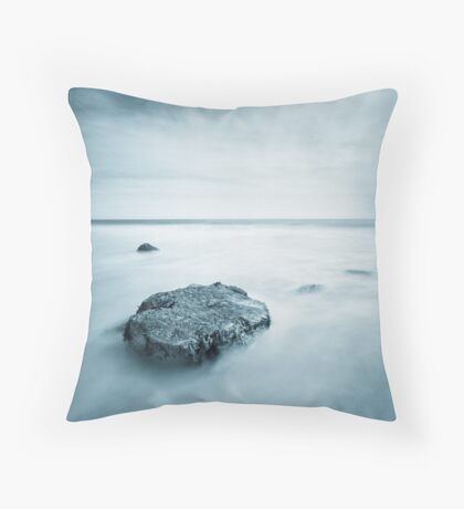 Silky Smooth Sea Throw Pillow