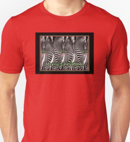 Zebra Christmas T-Shirt