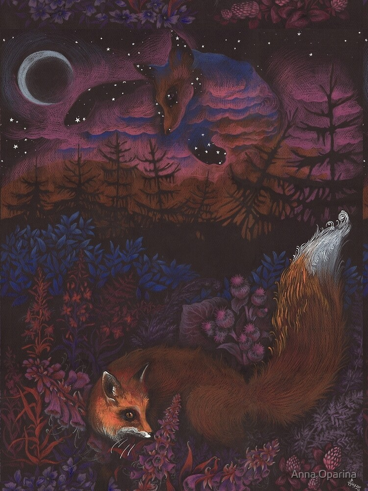 Twilight Fox by Oparina