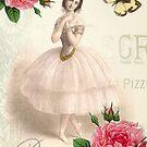 Parisian Ballerina by WickedlyLovely