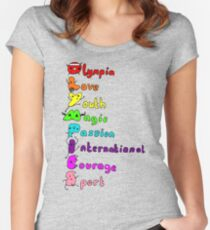 Olympic T-shirt Women's Fitted Scoop T-Shirt