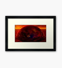 What we left behind ... Framed Print